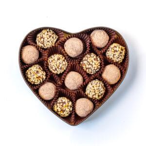 Chokbites DE LUXE chocolate truffles healthy vegan patisserie